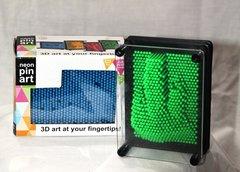 Neon Pin Art - 3D