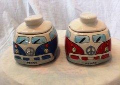 Kombi Trinket Box - Blue or Red