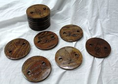 Nimbin Coasters - Wooden