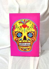Skull Candy Mounted Print