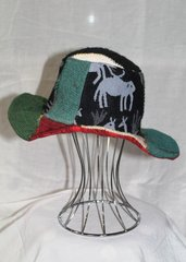 Patchwork Hemp Hat