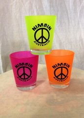 Shot Glass - Peace Sign