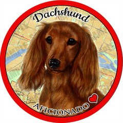 Dachshund Car Coaster 2