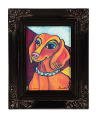 Pawcasso Framed Canvas