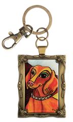 Pawcasso Key Chain