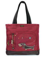 Chala Wiener Dog Pocket Tote