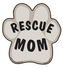 Rescue Mom Magnet
