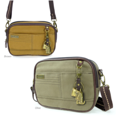 Chala Double Zip XBody Bag