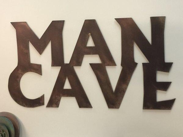 Man Cave Metal Art : Weld art scrap metal rat rod chevy pickup truck man cave