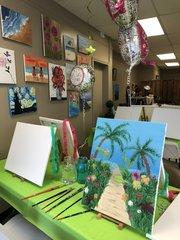 Office Team Building Paint Parties