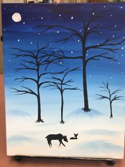 Family Painting Events! Kids & Parents Paint Nite!