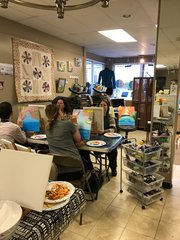 PAINT NIGHT PARTIES Thursdays! 6-8pm 233 Main St, East Greenwich