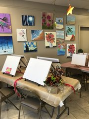 Kid's Birthday Paint Party & Arts Studio Event