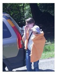 ATI Microfiber Emergency Blanket - Orange - Each
