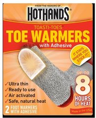 HeatMax Toasti-Toes - Case of 240 Pairs - FREE SHIPPING!