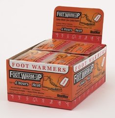 HeatMax Foot Warm-Ups - Case of 240 Pair - FREE SHIPPING!