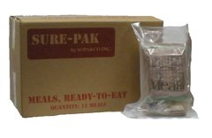 SurePak MRE's w/Heaters, 12 Meals - FREE UPS GROUND SHIPPING!
