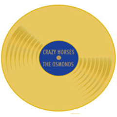 PIN: Crazy Horses Gold Record