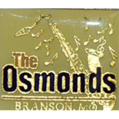 PIN: Osmond Saxophone Lapel Pin