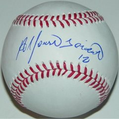Alfonso Soriano Signed Autographed Auto OML Baseball - Proof