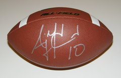 A. J. McCarron Signed Autographed Auto Nike All Field Football - UA Alabama Crimson Tide
