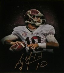 A. J. McCarron Signed Autographed Auto 11x14 Custom Photo - Proof