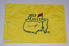 Condoleeza Rice Signed Autographed Auto 2013 Masters Pin Flag - Proof - Augusta National - JSA