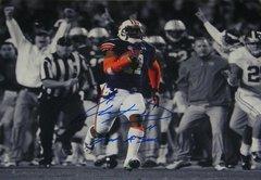Chris Davis Signed Autographed Auto Auburn Tigers 2013 Iron Bowl 16x20 Spotlight Photo w/Got a Sec - Proof