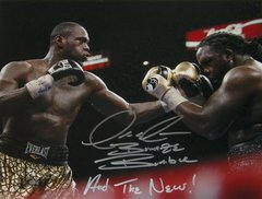 Deontay Wilder Signed Autographed Auto WBC Boxing 11x14 Photo w/And the New & Bronze Bomber - Proof