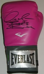 Deontay Wilder Signed Autographed Auto Pink Everlast Boxing Glove w/Bronze Bomber - Proof