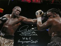 Deontay Wilder Signed Autographed Auto WBC Boxing 16x20 Photo w/WBC Heavyweight Champ & Bronze Bomber - Proof