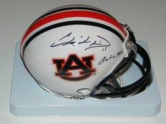 Chris Davis Signed Autographed Auto Auburn Tigers Mini Helmet w/Got a Sec - Proof