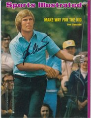Ben Crenshaw Signed Autographed Auto 1974 SI Sports Illustrated - NO LABEL