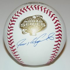 Ivan Rodriguez Signed Autographed Auto 2003 World Series Baseball