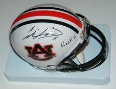 Chris Davis Signed Autographed Auto Auburn Tigers Mini Helmet w/Kick 6 - Proof