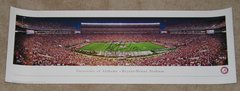 A. J. McCarron Signed Autographed Auto 13x39 Alabama Crimson Tide Panoramic Photo - Proof