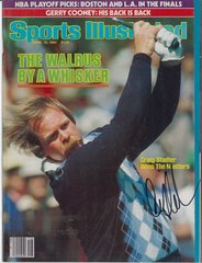 Craig Stadler Signed Autographed Auto 1982 Masters SI Sports Illustrated - NO LABEL