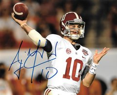 A. J. McCarron Signed Autographed Auto 8x10 BCS Photo - Proof