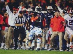 Chris Davis Signed Autographed Auto Auburn Tigers 18x24 Photo w/2013 Iron Bowl 34-28 Kick Bama Kick - Proof