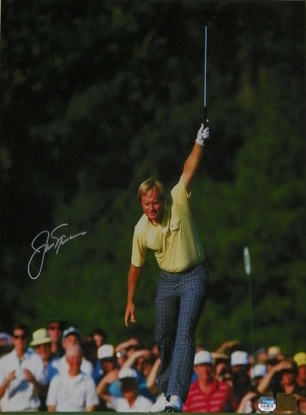 Jack Nicklaus Signed Autographed Auto 16x20 Masters Photo - Fanatics & Golden Bear Authentic