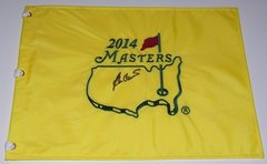 Ben Crenshaw Signed Autographed Auto Masters Pin Flag - Augusta National
