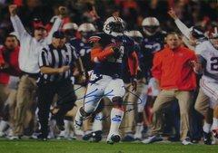 Chris Davis Signed Autographed Auto Auburn Tigers 2013 Iron Bowl 16x20 Photo w/Kick 6 - Proof