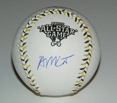 Brian McCann Signed Autographed Auto 2006 All Star Baseball