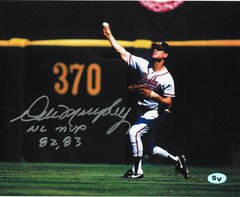 Dale Murphy Signed Autographed Auto Atlanta Braves 16x20 Photo w/NL MVP 82, 83