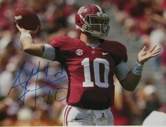 A. J. McCarron Signed Autographed Auto 11x14 Photo - Proof
