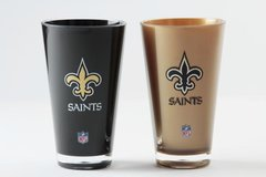 New Orleans Saints Insulated Tumbler Cup 2 Pack On Field Colors NFL Licensed