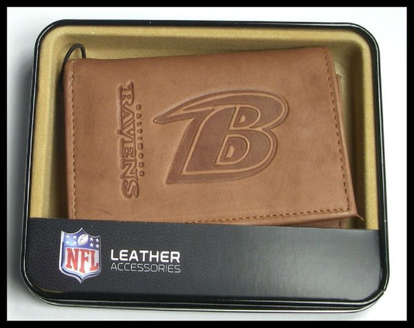 Baltimore Ravens Leather Wallet NFL