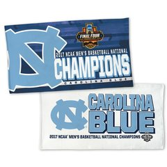 North Carolina Tar Heels 2017 NCAA Champions Locker Room Towel NFL Licensed