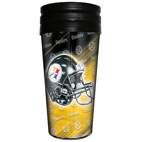 Pittsburgh Steelers Travel Tumbler Coffee Cup NFL