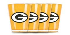 Green Bay Packers Shot Glasses 4 Pack Shatterproof NFL